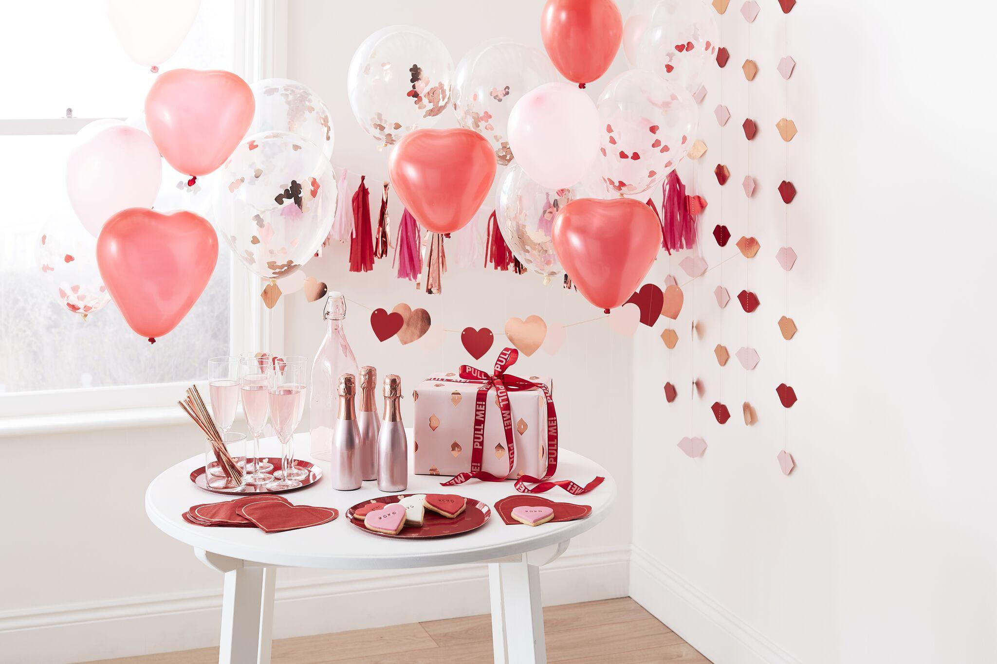 10 Deko- und Geschenkideen zum Valentinstag